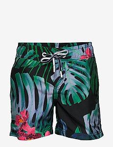 Swimshort - swimshorts - deep capri