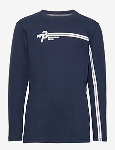 T-Shirt LS R-Neck - long-sleeved t-shirts - deep capri
