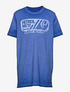 T-Shirt SS-R-Neck - short-sleeved - light capri
