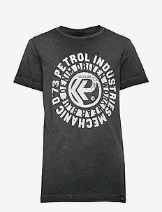 T-Shirt SS-R-Neck - short-sleeved - raven grey