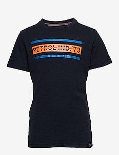 T-Shirt SS R-Neck - short-sleeved - deep navy