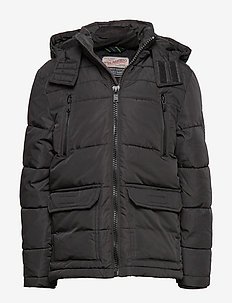 Jacket Padded - puffer & padded - black