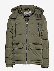 Jacket Padded - puffer & padded - dark army