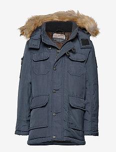 Jacket parka - parkas - deep navy