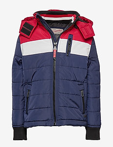 Jacket - puffer & padded - deep navy
