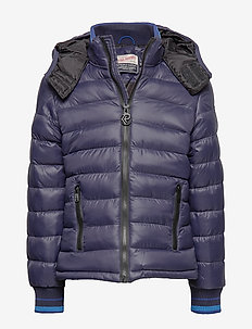 Jacket - puffer & padded - deep capri