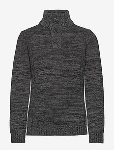 Knitwear Collar - knitwear - black