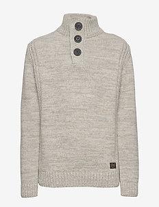 Knitwear Collar - SMOKEY CLOUD