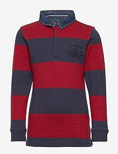 Polo LS - polo shirts - biking red