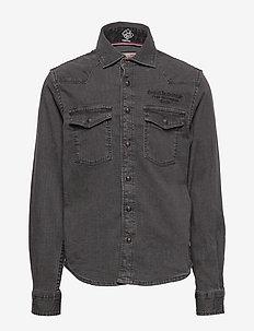 Shirt Longsleeve - RAVEN GREY
