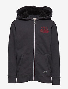 Sweater Hooded - BLACK NAVY