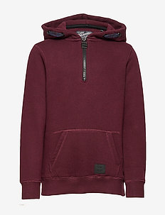 Sweater Hooded - BURGUNDY