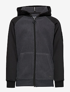 Sweater Hooded - RAVEN GREY