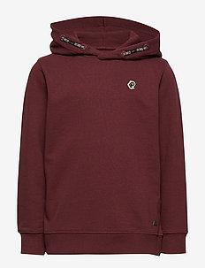 Sweater Hooded - BURGUNDY