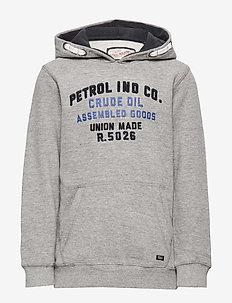 Sweater Hooded - LIGHT GREY MELEE