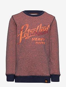 Sweater R-Neck - SHOCKING ORANGE