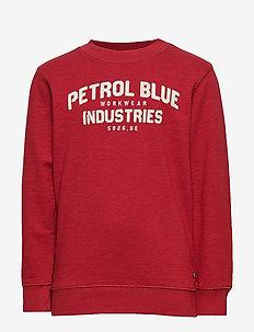 Sweater R-Neck - BIKING RED