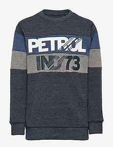 Sweater R-Neck - DEEP NAVY