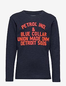 T-Shirt LS R-Neck - DEEP NAVY