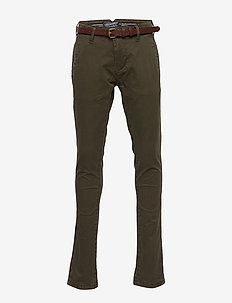 Boys Non Denim Chino - DARK ARMY