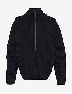 Boys Knitwear Collar - DEEP NAVY