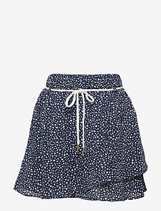 Skirt Printed - skirts - deep navy