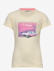 T-Shirt SS R-Neck - short-sleeved - mellow yellow
