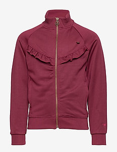 Girls Jacket Blazer - ZINFANDEL