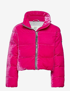 Girls Jacket Puff - puffer & padded - magenta