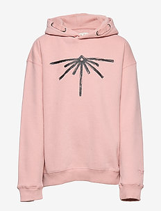 Girls Sweater Hooded - SILVER PINK