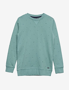 Sweater R-Neck - LIGHT PINE