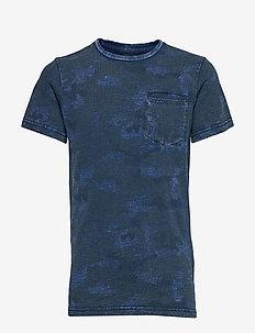 T-Shirt SS R-Neck - FADED INDIGO