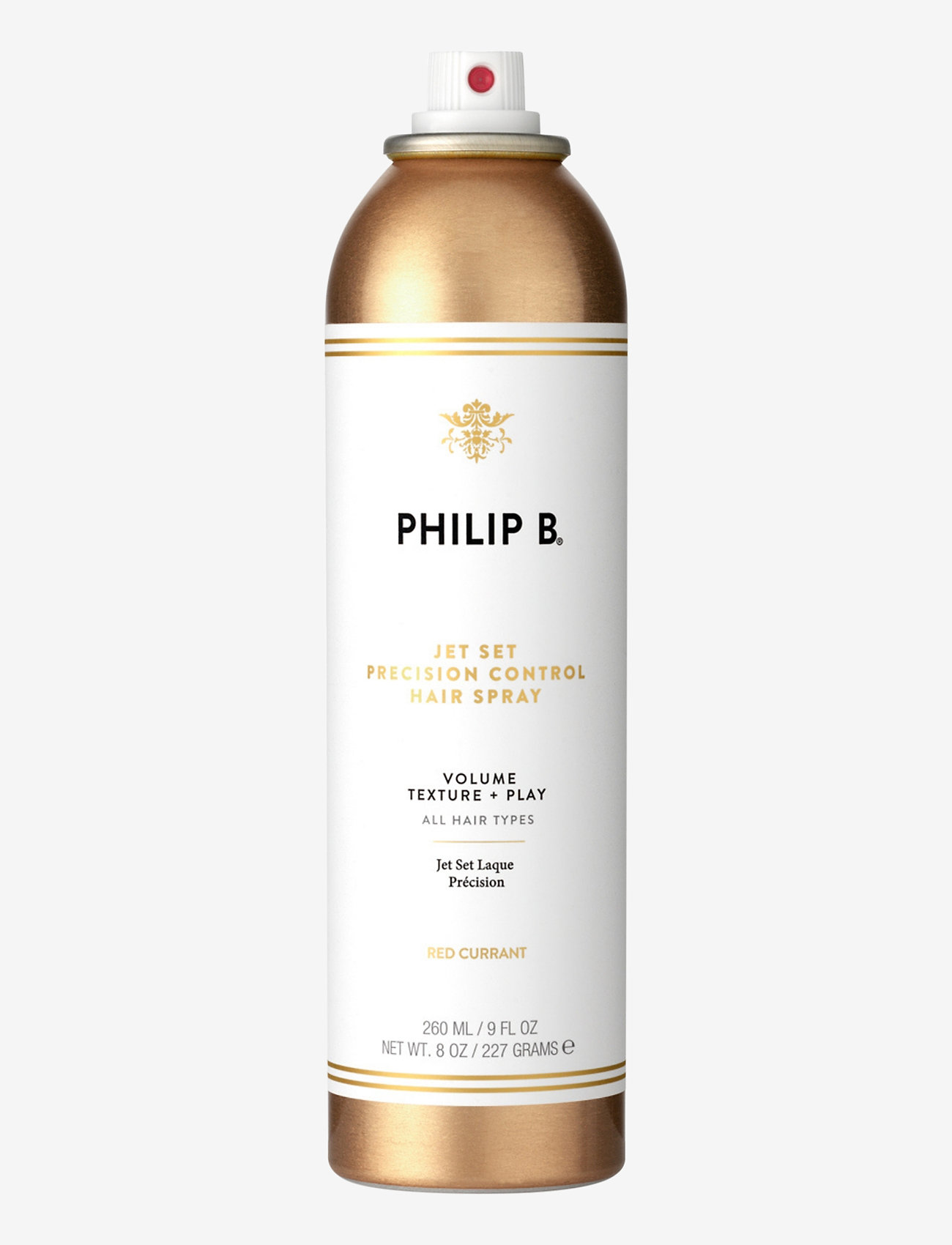 Philip B - Jet Set Precision Control Hair Spray - hårspray - no colour - 0