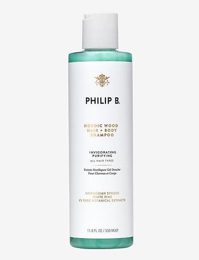 Nordic Wood Hair +  Body Shampoo - shampoo - no colour