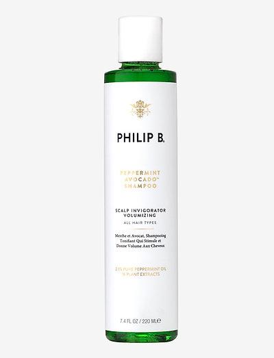 220ml Peppermint & Avocado Shampoo - shampoo - no colour