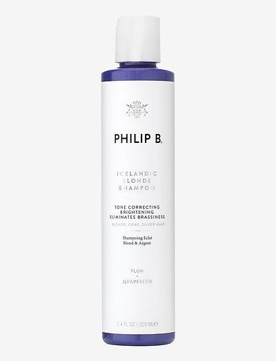 Icelandic Blonde Shampoo - silver shampoo - no colour
