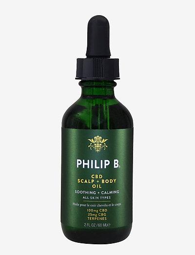 CBD Scalp & Body Oil - kropsolier - no colour