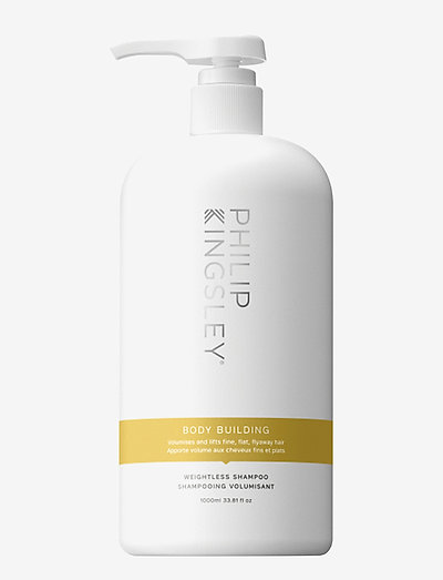 BODY BUILDING SHAMPOO - shampoo - clear
