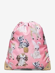 PICK&PACK Cute Animals gym bag - ryggsäckar - pink