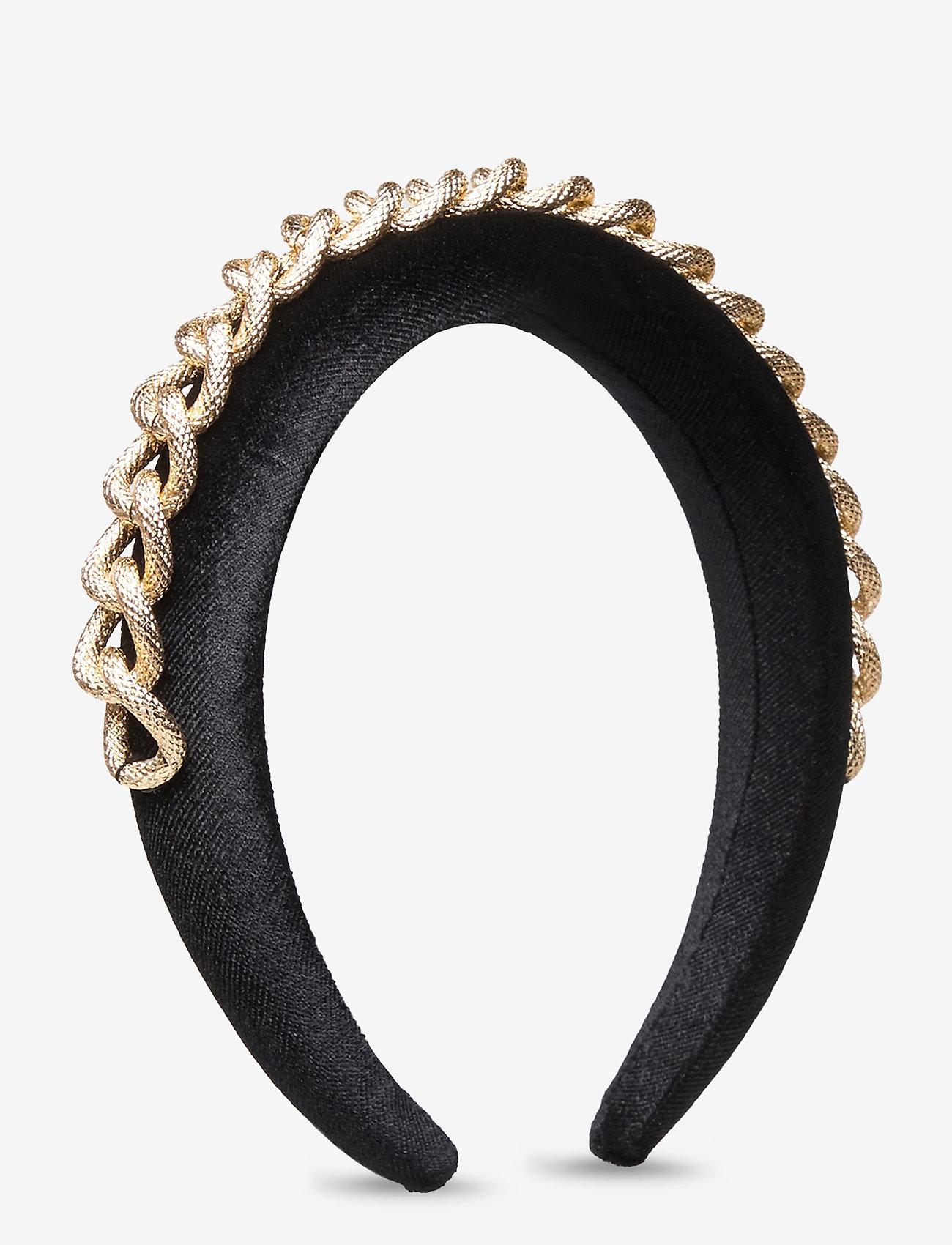 Pieces - PCNORA HAIRBAND D2D - haar accessoires - black - 0