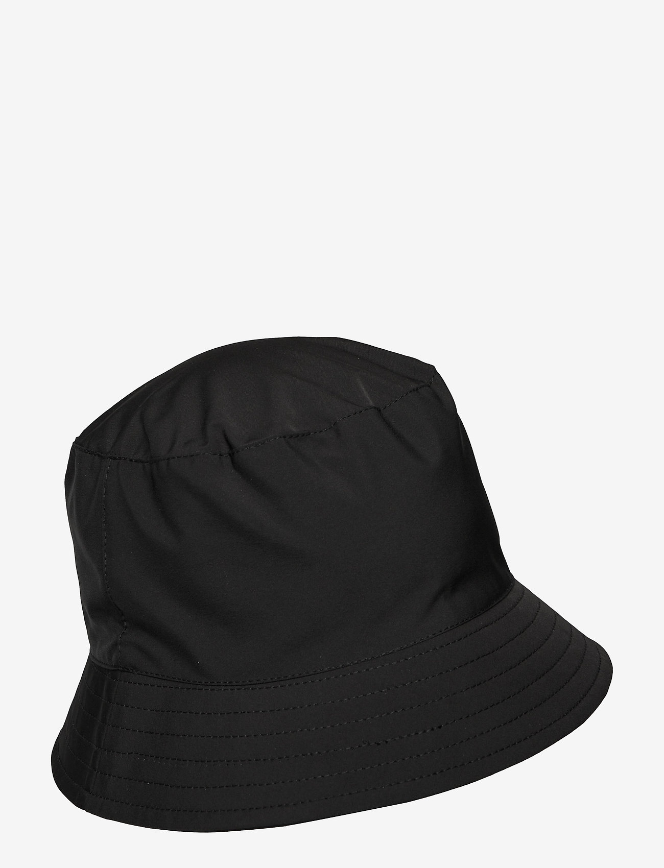 Pieces - PCTOMMA BUCKET HAT - bøllehatte - black - 0