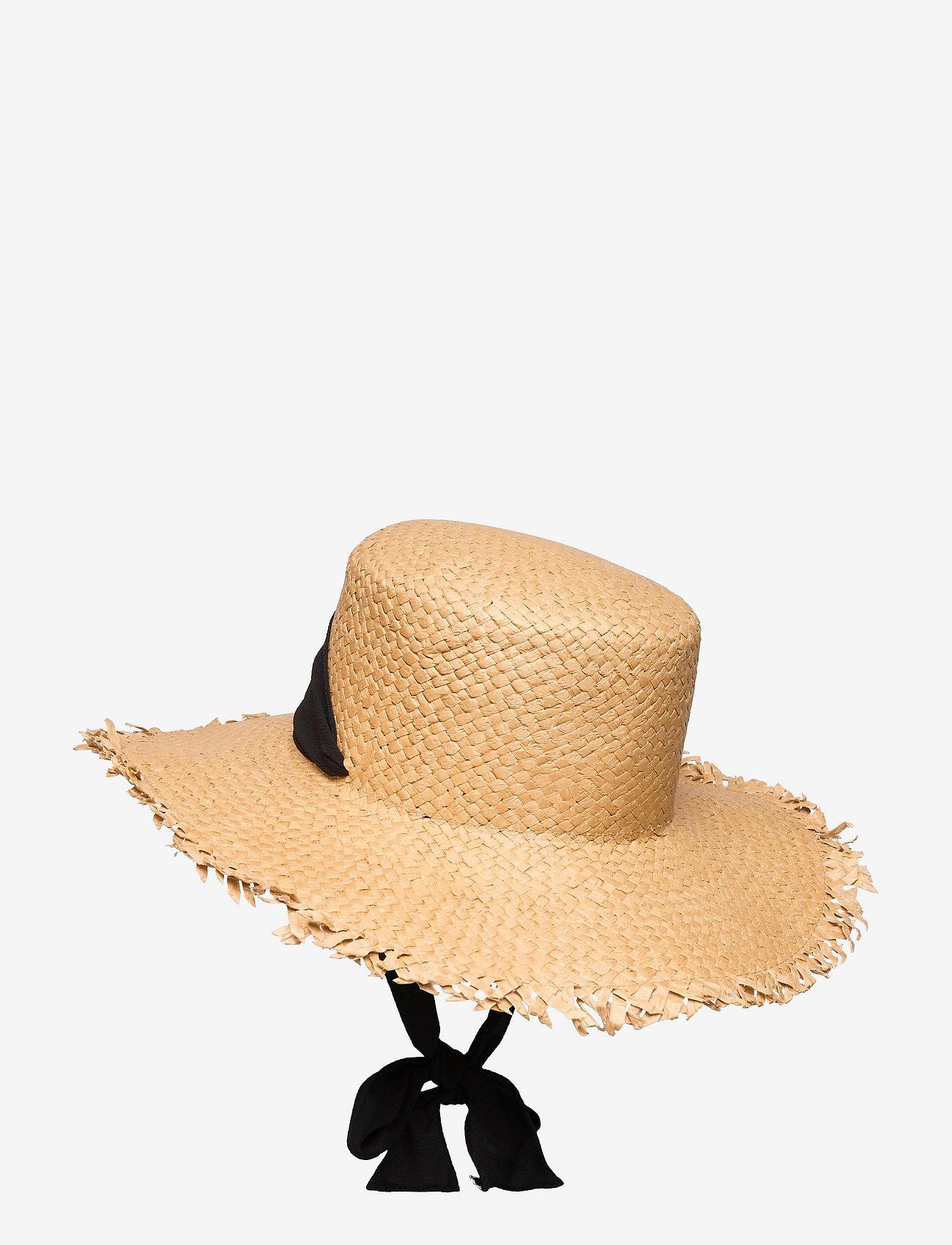 Pieces - PCTONEROSA STRAW HAT - stråhatte - nature - 1