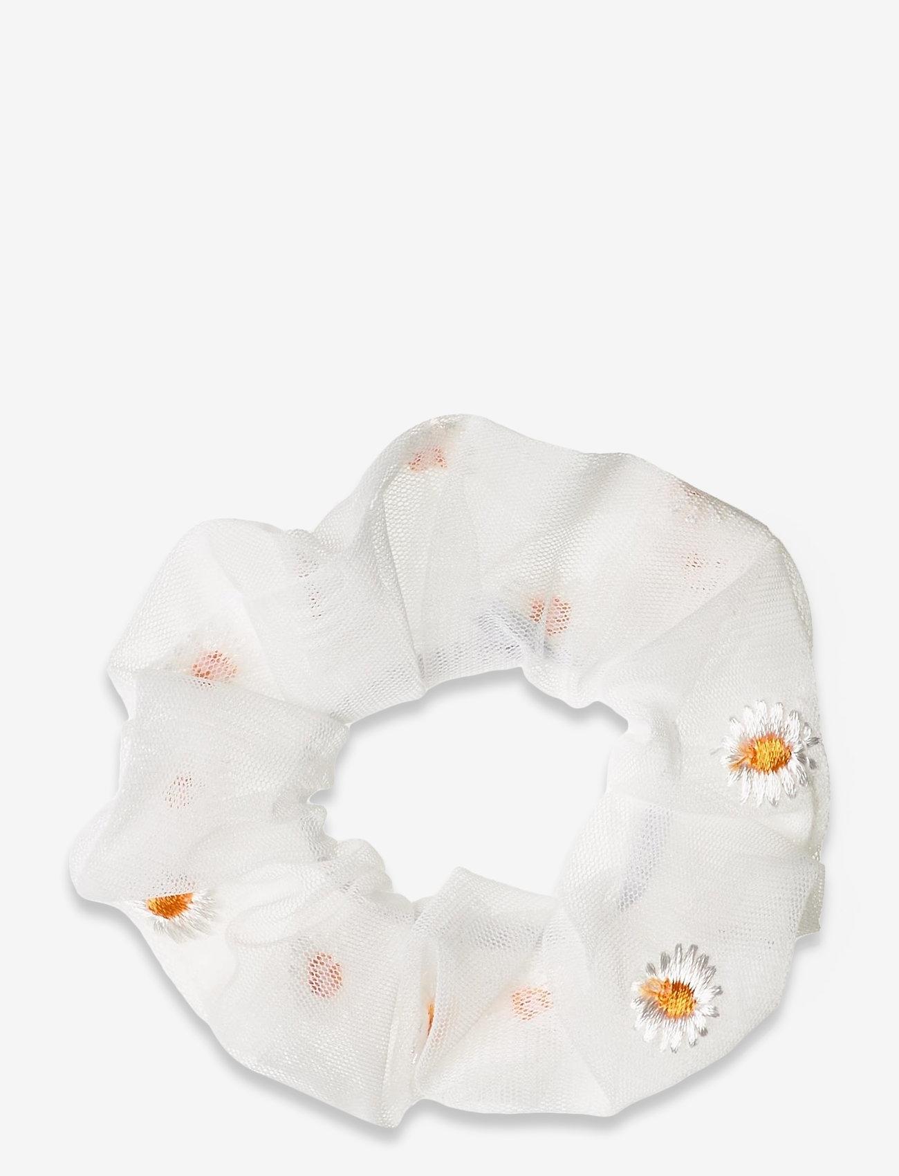 Pieces - PCMOLLY SCRUNCHIE D2D - haar accessoires - bright white - 0