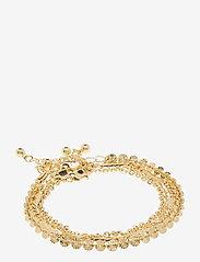 Pieces - PCTONA BRACELET 4-PACK - dainty - gold colour - 0