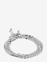 Pieces - PCTONA BRACELET 4-PACK - dainty - silver colour - 0