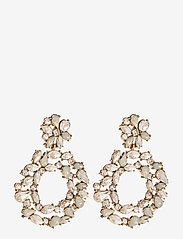 Pieces - PCNICOLA EARRINGS D2D - statement earrings - gold colour - 0