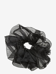 Pieces - PCDOANZA SCRUNCHIE D2D - haar accessoires - black - 0