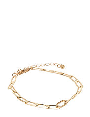 PCFIBE BASIC BRACELET D2D - GOLD COLOUR