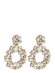 PCNICOLA EARRINGS D2D - GOLD COLOUR