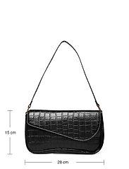 Pieces - PCMONAI SHOULDER BAG D2D - handväskor - black - 4